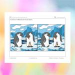 La famille pingouin (différences)