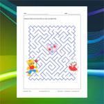 Labyrinthe Chats et Coeur