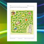 Labyrinthe Lapin de Pâques