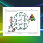 Labyrinthe Lapin de Pâques 2