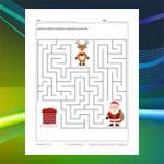 Labyrinthe Père Noël