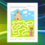 Labyrinthe Princesse et château