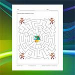 Labyrinthe Singes et Cocotier