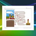 Labyrinthe Train