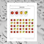 Compte les fruits