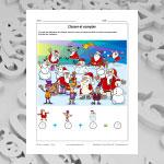 Classer et compter - Noël