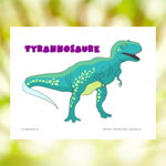 Affiche Tyrannosaure