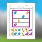Sudoku des animaux d'Afrique