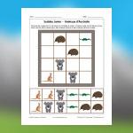 Sudoku d'animaux d'Australie