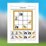 Sudoku des animaux exotiques