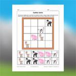 Sudoku des animaux de la ferme