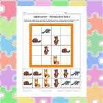 Sudoku des animaux de la forêt 2