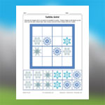 Sudoku de flocons de neige