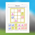 Sudoku de formes géométriques 3D