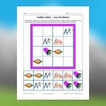 Sudoku de jeux d'extérieur