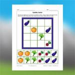 Sudoku de légumes 1