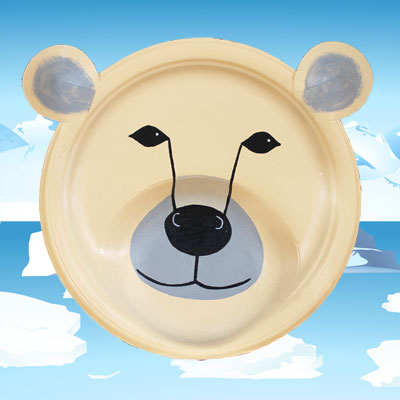 Masque d'ours polaire