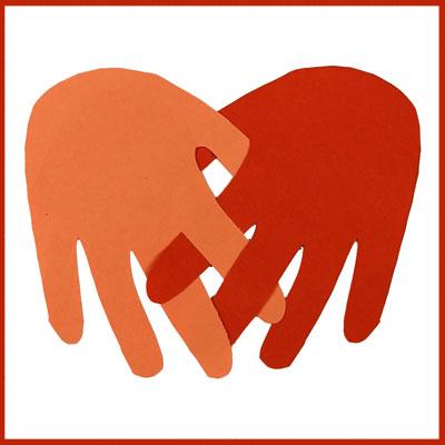 Petites mains pour St Valentin