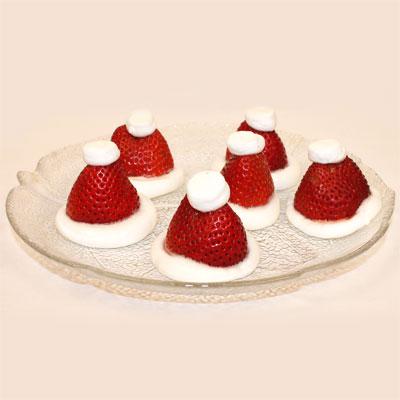 Recette de bonnets de Père Noël