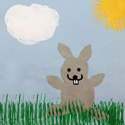 Peinture de lapin