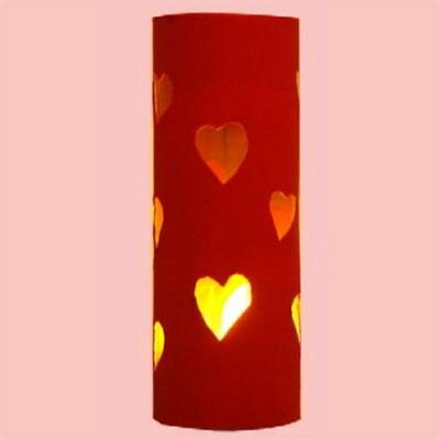 Petit luminaire pour la Saint-Valentin