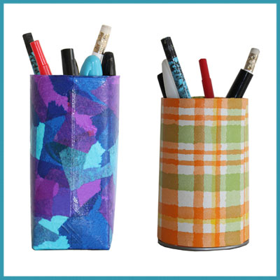 D'autres pots à crayons